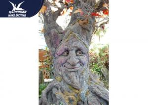 China Corrosion Resistance Cartoon Talking Tree High Simulation / Garden Plant Statue on sale