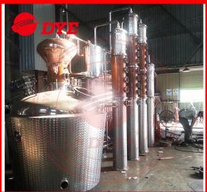 China 1 - 3 Layers Whisky Distillation Kit , Fractional Distillation Apparatus on sale
