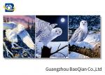 3D Wallpaper Lenticular Flip Animal Bird / Horse Picture 4 Colour 3D UV Printing