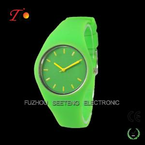 China Promotional smooth silicone ice style watch as gift for Christmas promotion on sale