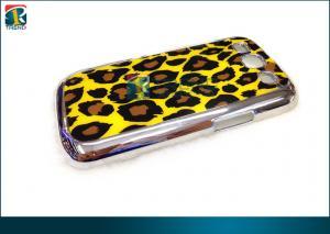 China Fundas protectoras plásticas del Samsung Galaxy de Chrome de la PC durable para la galaxia S3 con la etiqueta engomada de la parte trasera del leopardo on sale