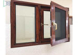 China Thermal Break Aluminium Casement Windows Customized Color Heat Insulation Profiles on sale