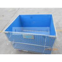 Industrial wire mesh warehousing cages