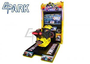China Racing Car Simulator / Moto Hero Racing Game Machine L1400*2100*H2400mm on sale