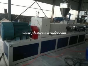 China WPC / PVC Plastic Granules Machine , Plastic Granules Manufacturing Machine on sale