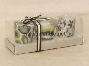 China 3 PCS 80g Urn Shape Craft Candle Set on sale