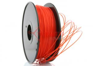 China 3D Printer 3mm PLA Filament Red  High Stiffness 1kg Spool , recycle 3d printer filament on sale