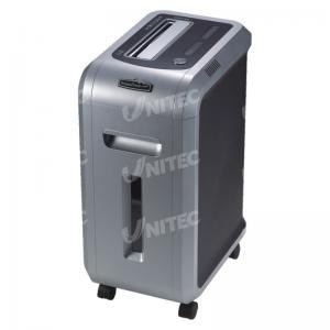 China Grey Heavy Duty Office Shredder , Paper Shredding Machine With LED Light on sale