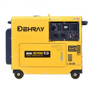 China 8KW 12V 950×530×740mm Portable Silent Generators on sale