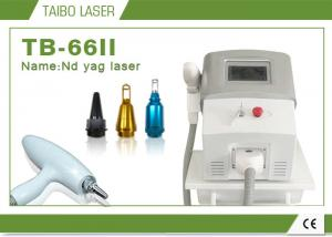 China Permanent Make up Carbon Treatment 1064 nm 532nm Nd Yag Laser Tattoo Removal Machine on sale
