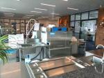 190KG 10KW / 28KW Door Type Dishwasher ECO-M90P for Staff canteens