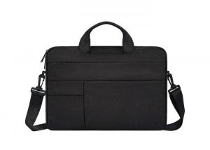 China Professional Business Laptop Briefcase Water Repellent Nylon Fabric Made on sale