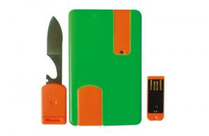 China Multifunctional credit card shaped USB drive on sale