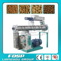 China Low price 1-5t/h small cattle feed pellet making machine with Siemens motor on sale