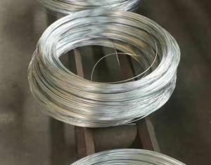 China BWG 8- Bwg 24 Wire Diameter Low Carbon Electric Galvanized Iron Wire Untreated Surface on sale