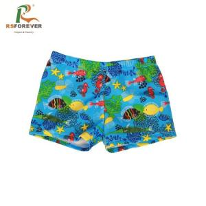 China Polyester/Spandex Kids Swimwear Pants Children Swimming Trunks Boys Boardshorts on sale