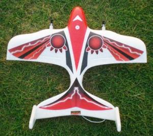 China Intelligent Infrared Mini 2CH Big New RC Red Airplanes With 1.5V * 6AA Alkaline Battery on sale