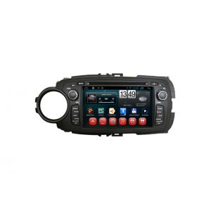 China Toyota 2012 Yaris Android GPS Navigation Android OS DVD Player Camera Input TV on sale