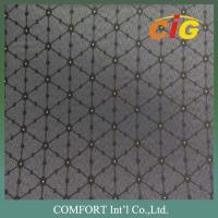 China 150cm Width 100% Polyester Tatting Custom Car Upholstery Fabric For Car Seat Cover on sale
