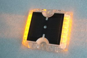 China 12 LEDs Solar Powered Road Studs 115×105×20 MM -20°C +70°C Work Temperature on sale
