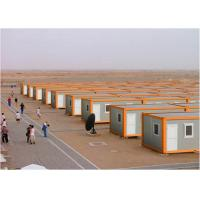 White And Orange Steel Storage Containers For Larage Scale Competition Area