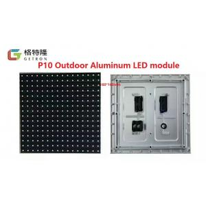 China P10 LED Screen Outdoor SMD LED Display 1/4 Scan P10 RGB LED Module on sale
