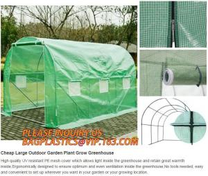 China Black out greenhouse garden greenhouse film greenhouse PC &glass greenhouse,Poly plastic film green house for cucumber on sale