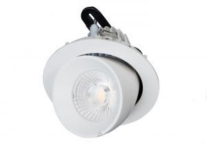 China 25W 35W 50W 60 Degree Adjustable LED Down Light Rotational Gimbal Aluminum Warm White on sale