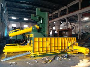 China High Speed Hydraulic Car Material / Waste Metal Baling Press Machine Y81F Series on sale