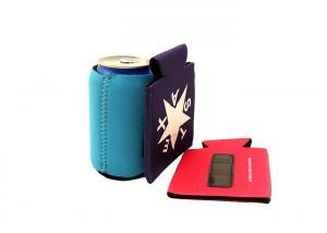 Quality 12oz Magnetic Neoprene Bottle Holder Can Koozie For Beer / Cola Drinks for sale