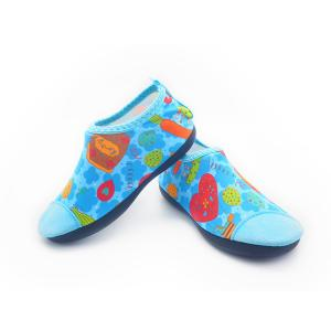 Quality Lightweight Childrens Aqua Shoes Anti - Slip Waterproof Footwear For Swimming for sale