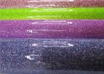 Chunky Customized Colorful Glitter Pvc Fabric Soft Handfeeling For TV Background Wall