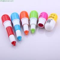 cute cheap pill advertising mini ballpen,pill ball pen,retractable funny pen