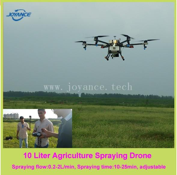 5L hexacopter sprayer agriculture drone spraying uav for