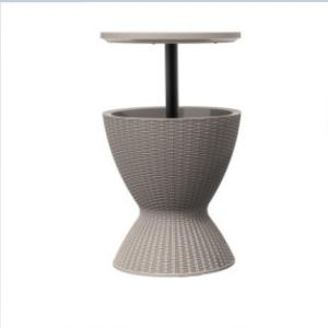 China Metal Beer Barrel CE Grey Rattan Outdoor Furniture For Storage on sale