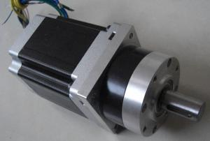 China Planetary gearbox Geared nema 34 stepper motor hi density stacks of stator on sale