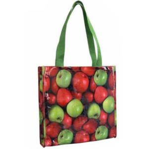 China Reusable Grocery Bags Custom Printed Promotion Laminated Non Woven Bag on sale