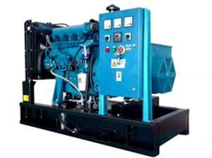 Quality 25kVA -1650kVA Open Type Diesel Generator , Land Use Cummins Generator Set for sale