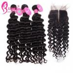 All Virgin Cambodian Coarse Deep Wave Hair Bundles Styler Boutique