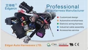 China 100 - 1800mm Engine Wiring Harness Assembly For Caterpillar Cat C7 Excavator on sale