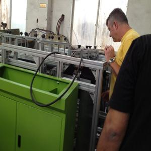 China Paper Roll Aluminum Foil Rewinding Machine Foil Roll ,  Siemens PLC on sale