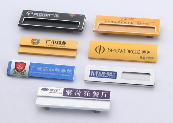 Metal Custom Name Tag Badges Unique Name Badges Template Aluminum Muilti Color For Sale Name Tag Badges Manufacturer From China 109168528