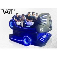 Virtual Reality Game Machine 9D Adventure Extreme Cinemas Six Seats