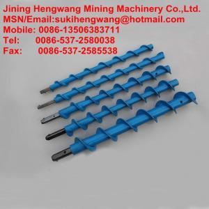 China coal mine auger spiral twist drill rod on sale