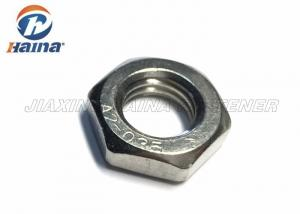 China Nueces de hex. del acero inoxidable SS304 SS316, estruendo plateado Chrome Nuts fino 936 del hexágono on sale