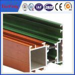 China 6063 Aluminum Alloy Extrusions commercial aluminum doors profiles For decoration wholesale