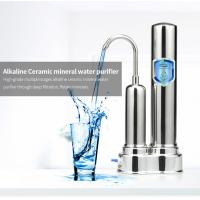 China Countertop Water Purification Systems With Korea Nano Ceramic Balls Water Filter on sale