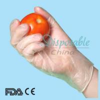 China Vinyl glove/Stretch vinyl glove/Vinyl glove latex free on sale