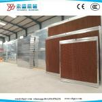 Greenhouse Poultry Farm Cooling Pad System 7090 Brown Size:1800/2000*600*100mm with Galvanized Steel Frame
