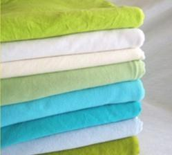 China TC Polyester Cotton Textile Knit Single Jersey Polyester Fabric for Garment on sale